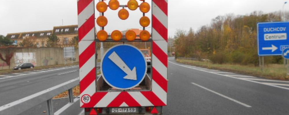 Přechodné dopravní značení